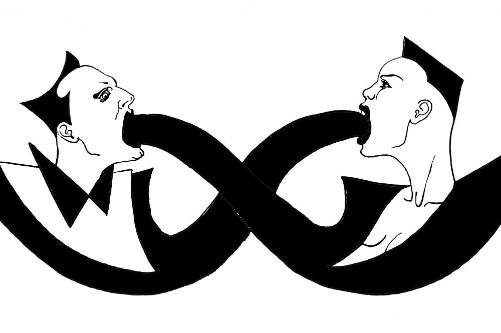 Grace Jones & Klaus Nomi